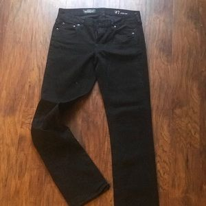 J. Crew Matchstick Black Jeans